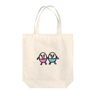 たまごブラザーズ Tote bags