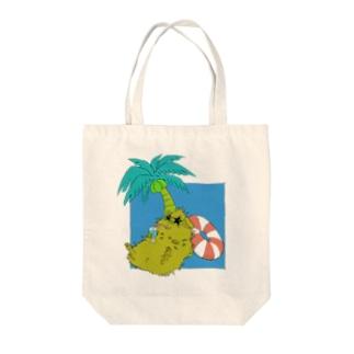 トロピカルモルモット(色違い.1) Tote Bag