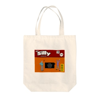 The Silly comics Tote bags