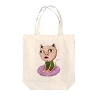 松山征シローのチャッピーお座り編 Tote bags