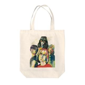 バンドシリーズ1ラモーンズ Tote bags