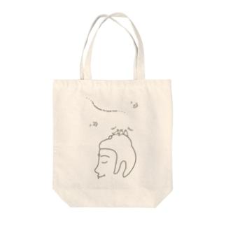 Listen(復刻版) Tote bags