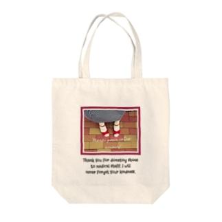 赤いサンダル Tote bags