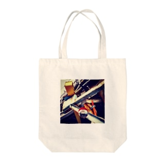 ガードミラーのある風景 Tote bags