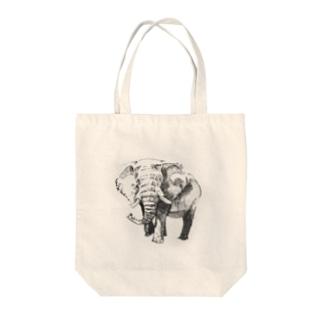 アフリカゾウ トートバッグ