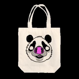 HUGオフォシャルショップのPnadrew Big Face Tote bags