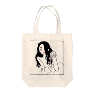 えっちなお姉さんは好きですか2 Tote bags