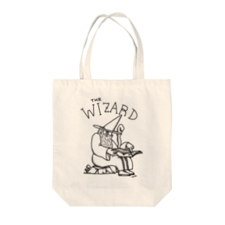 THE WIZARD(C) Tote bags