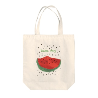 Taino_okasiraのSuica day Tote Bag
