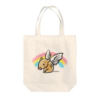 いのエンジェル Tote bags