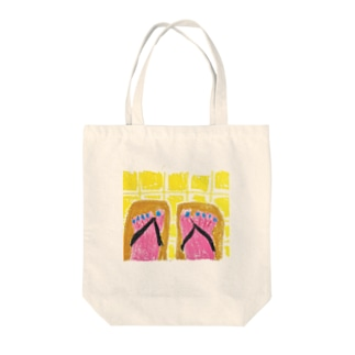 Japanese shoes Tote bags