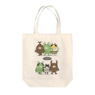 きぐるみキッズ(昆虫) Tote bags
