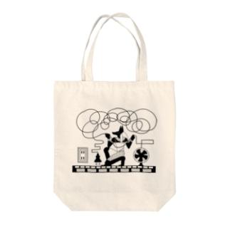 Karamatta! Tote bags