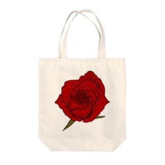 バラ(茎なし) Tote bags