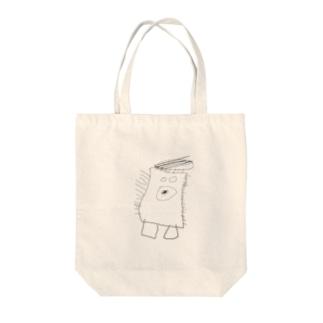 ファザーモンスター Tote bags