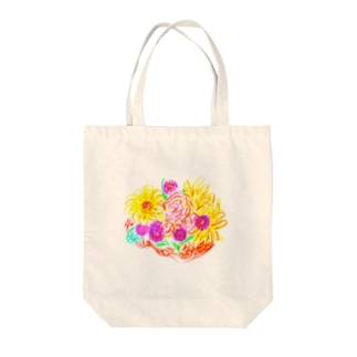 Bouquet Of Full-Hearted  Tote bags