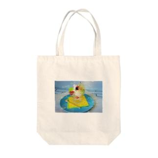 夢のフルーツパフェトート Tote bags