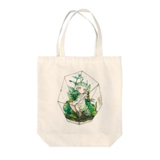箱庭の君 Tote bags