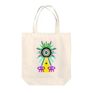 アブダクションTT Tote bags