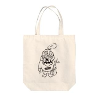 桜島ゾンビくん Tote bags