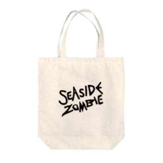 SEA SIDE ZOMBIE Tote bags