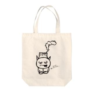 ミニ桜島ゾンビくん。なんか喰いたいがよ… Tote bags