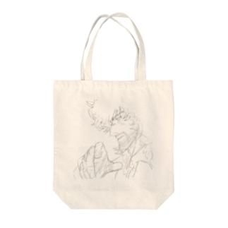 ソリタリア Tote bags
