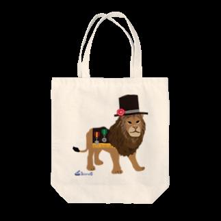 3pondSのライオンくん Tote bags