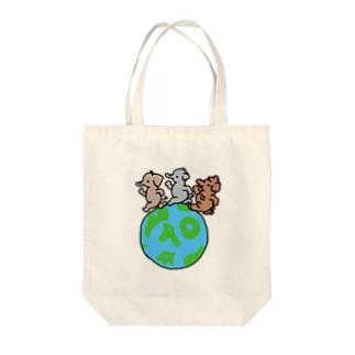 世界パオの日 Tote bags