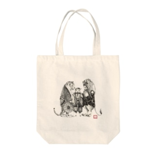黄門さま(Love All Wild Animals) Tote bags