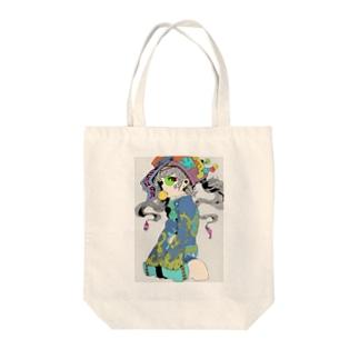 キョンシー Tote bags