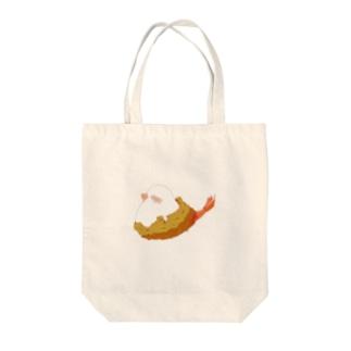 なりきりエビフライ Tote bags