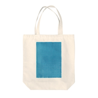 tenten あお Tote bags
