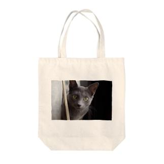 若ねこにゃーさん Tote bags