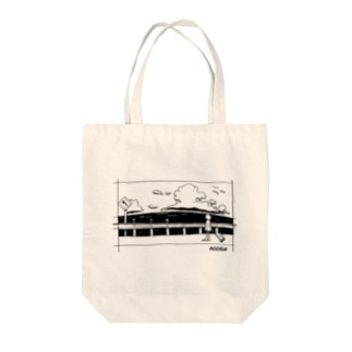 ocean Tote bags