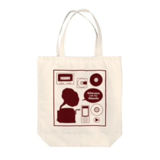 Music ミュージックトートバッグ Tote bags