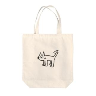 おはミャオ Tote bags