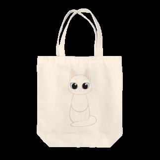 Tar-zansuの白猫トートバッグ