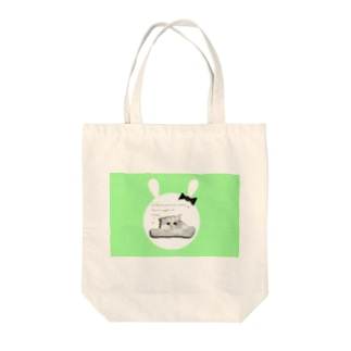 kitty time Tote bags
