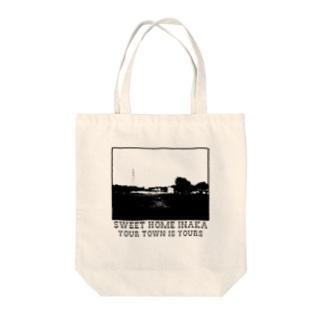 INAKA Series「SWEET HOME INAKA」 Tote bags
