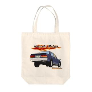 130セダンホットロッド Tote bags