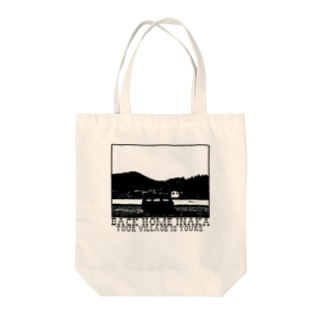 INAKA Series「BACK HOME INAKA」 Tote bags