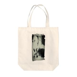 モザイクver Tote bags