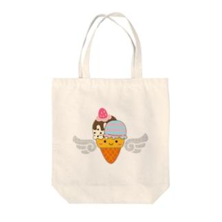 フォトジェニックなアイスクリームさん Tote bags