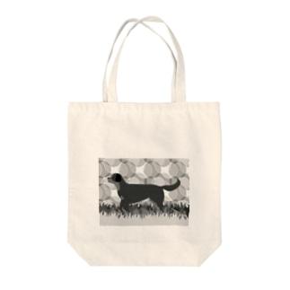 ロットワイラー 白黒 Tote Bag