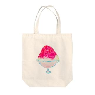 かきごおり(いちご) Tote bags