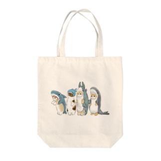 サメ図鑑 Tote bags