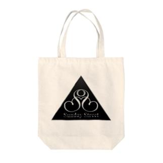 バンドロゴ2 Tote bags