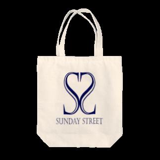 SundayStreetのバンドロゴ3トートバッグ