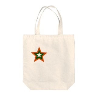 【cool health】カラースターPart1 Tote bags